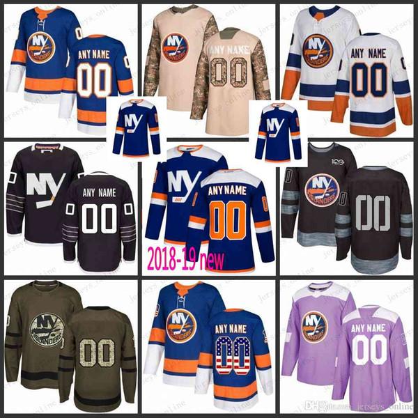 a0468c1d3 Custom Mens Women Youth New York Islanders 6 Ryan Pulock 13 Mathew Barzal  27 Anders Lee