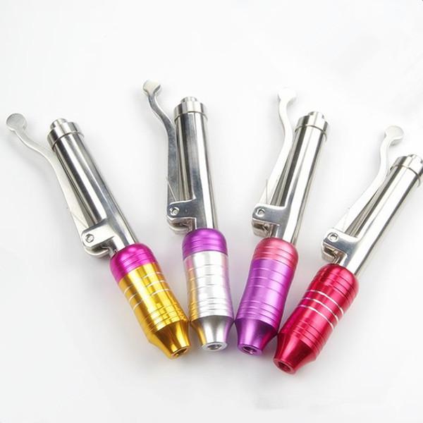 Alta pressão sem agulha caneta hyaluron agulha injeção gratuita mesoterapia ácido hialurônico soro arma dispositivo para anti rugas / lábio de elevação