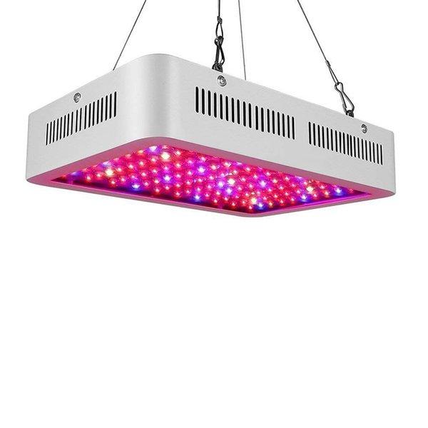 LED Işık Büyümek 600 W 1000 W 1200 W Çift Cips LED Tam Spektrum ışık Kapalı Sera Topraksız Büyüyen Bahçe Çiçeklenme Için Kapalı LED Işık