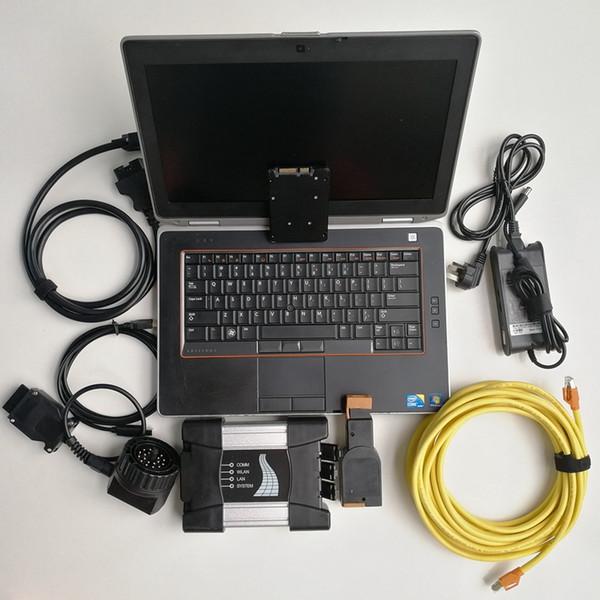 V07.2019 Soft-ware with Expert mode Scanner Automotive diagnostic tool for BMW Icom next Icom A+B+C 480GB SSD laptop computer E6420
