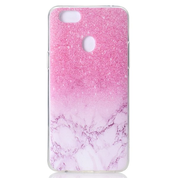 Transparent Soft TPU Cover For OPPO F5 A73 A75 Case Colour decoration Tower bike Butterfly Girl Design Mobile Phone Cases