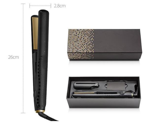 styler Nuovo V Gold Max raddrizzatore dei capelli professionista classico veloce Piastre per capelli Ferro Hair Styling J1410
