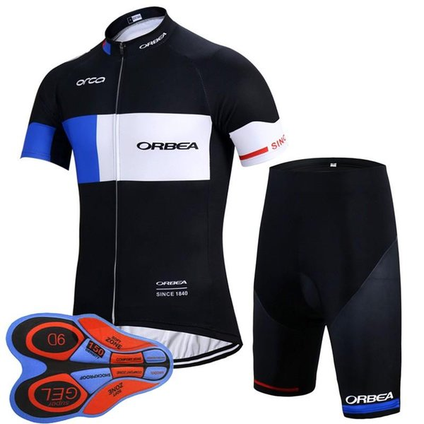 2018 outdoor sports ORBEA road sportswear 9D gel pad mens clothing cycle wear bike bicycle Cycling Jerseys shirt shorts sets F2239