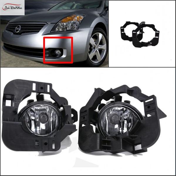 Auto Nebelscheinwerfer Für Nissan Altima 2008 Klar Frontstoßstange Nebelscheinwerfer Ersetzen Montage kit Lampe: H11-12V 55 Watt (ein Paar)