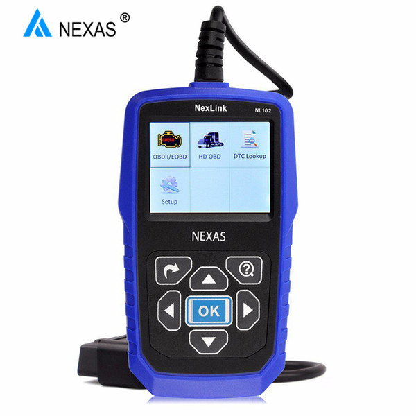 Heavy Duty Truck Diagnostic Scanner NL102 OBD OBD2 for Volvo Scania Renault Truck Diesel Engine ABS Brake Diagnostic Tool