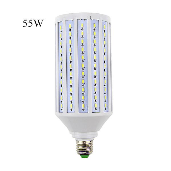 Venta caliente lampada llevó la lámpara E40 E27 AC110V / 220v 55W Epistar smd 5730 176 llevó bulbo de la luz del maíz Bulbos Tubos Lumen 5000-5500 Lm