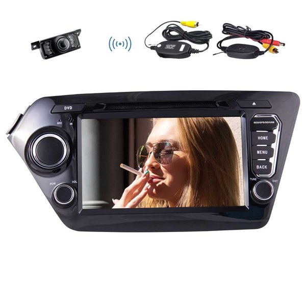"8"" Car Stereo For KIA K2(2011~2012) Android 7.1 Quad Core Car Stereo Radio Double Din Video car DVD CD Player Navigator"