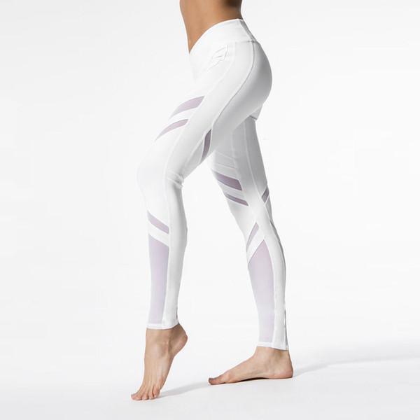 chic Frauen Sport Hose Yoga Leggings Frauen Blumen