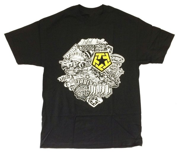 T Shirts For Sale Graphic O-Neck Tribal Gear Yellow Logo Name Collage Short-Sleeve Mens T Shirts