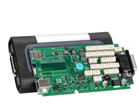 CDP tcs CDP TCS PRO yeni VCI 2015 R3 / 2016 R1 Tek yeşil PCB OBDII Araba Kamyon Teşhis Aracı Süper CDP OBD2 OBDII Otomatik Tarayıcı