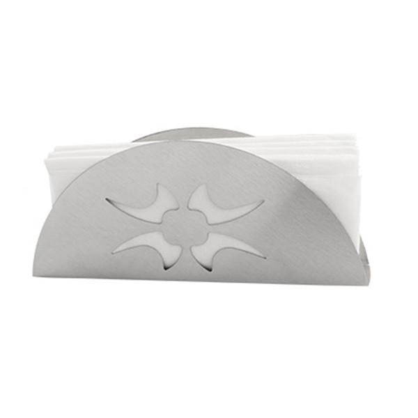 Stainless Steel Napkin Holder Tissue Box Car Office Home High-grade Paper Towel Holder Napkin Rack