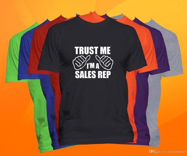 Vertrauen Sie, dass ich ich ein Vertriebsmitarbeiter-T-Shirt bin