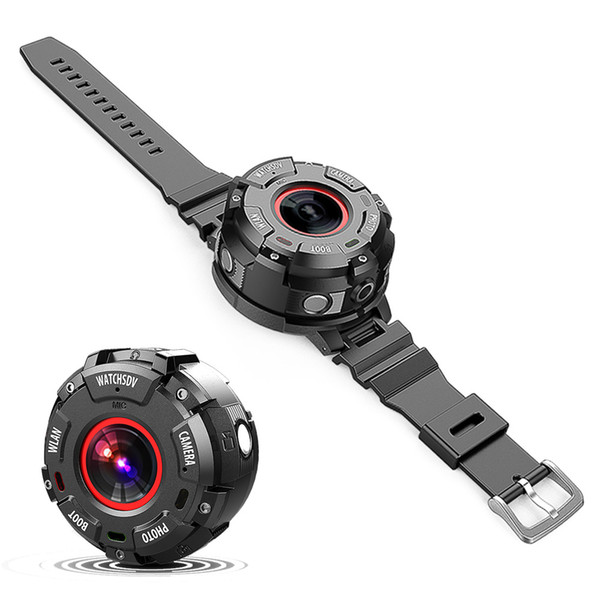 Fashion S222 HD 1080P Outdoor Sport Video Camera Watch Wifi Smart Watch 8.0 Mega Pixels Waterproof Dustproof Shock-Resistant.