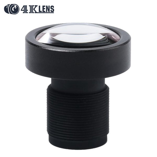 """wholesale 3.8MM CCTV Lens 1/2.3"""" 12MP M12 Mount Low Distortion 95Degree for Aerial Gimbal DJI Phantom 3 Camera Drones Newly Hot"""