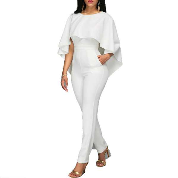MUXU womens jumpsuit body bodies woman white jumpsuit for women white romper europe and the united states jumpsuits rompers