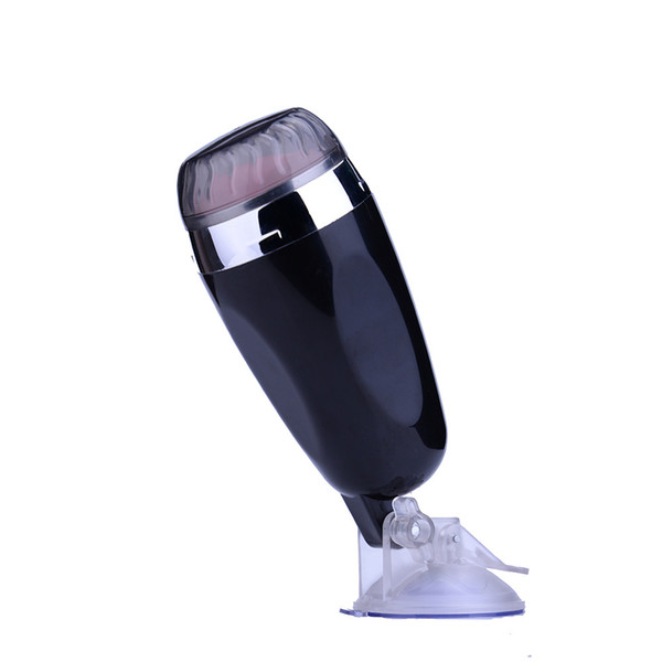 Newest Male Masturbation Cup Hands-free electric Male masturbator Male vibrator Sex Toys With Retail Package J1608