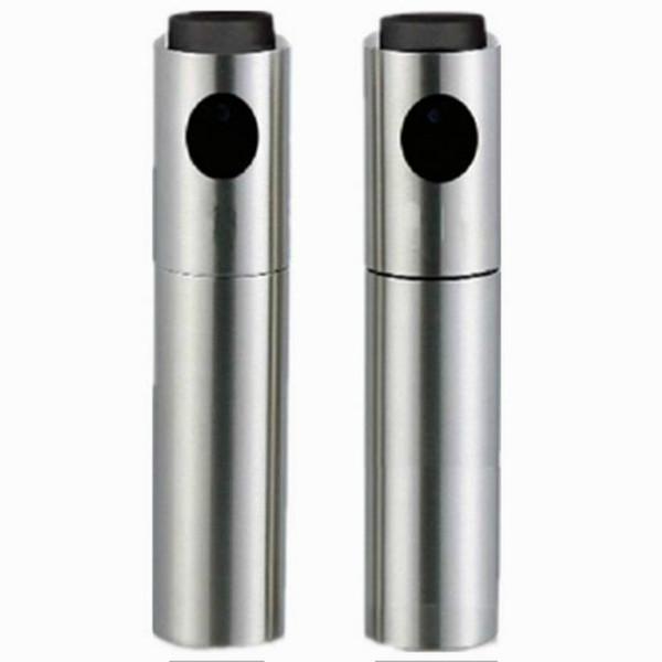 Paslanmaz Çelik Zeytin Püskürtme Şişe Thumb Itme Püskürtme Yağ Pompası Can Pot Mutfak Gadget Tuz Karabiber Değirmeni Sosu Değirmeni