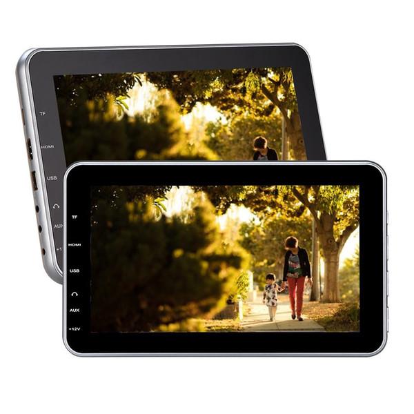"Eincar Black Twin Car Headrest DVD Players 10.1""FM/IR Transmitter car dvd Speakers Dual Backseat Screens USB SD Video Music entertainment"