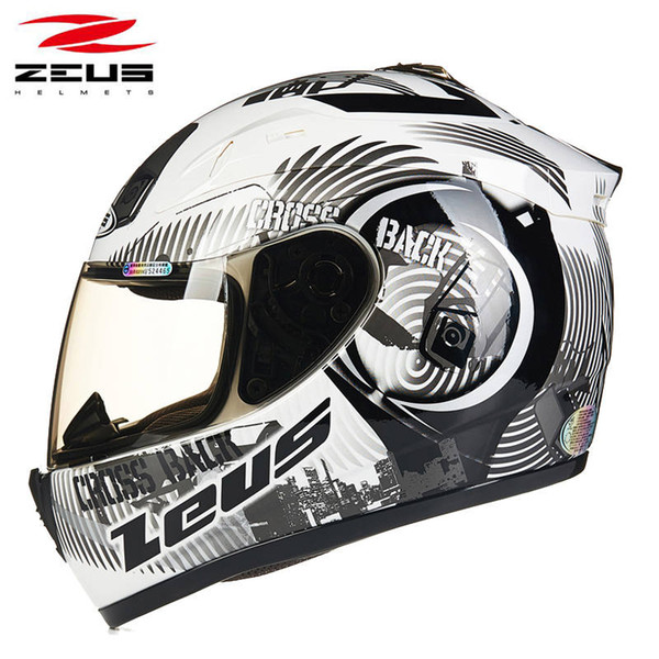 Zeus 2000a Full Face Motorcycle Helmet Protective Gear Man Woman Moto Racing Helmets Removable Washable Pad Motorbike Helmets Cheap Helmets Motorcycle