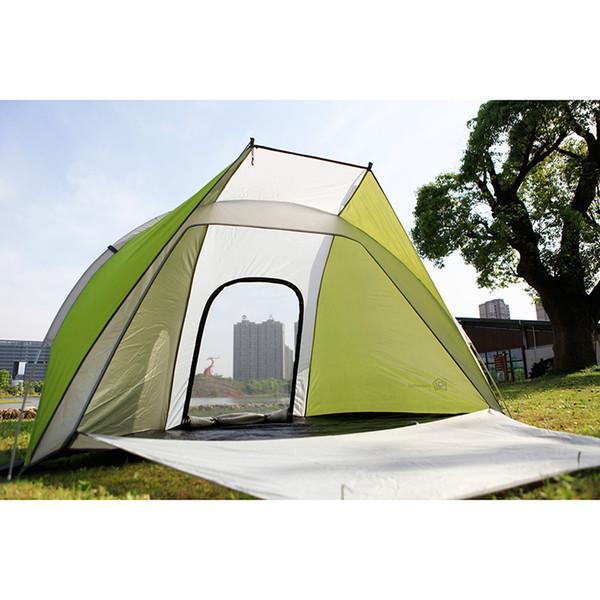 Berge jenseits der Berge 2 Person großer Schatten Outdoor Beach Sun Shelter Zelte wasserdicht Camping 3 Jahreszeiten Zelt Portable