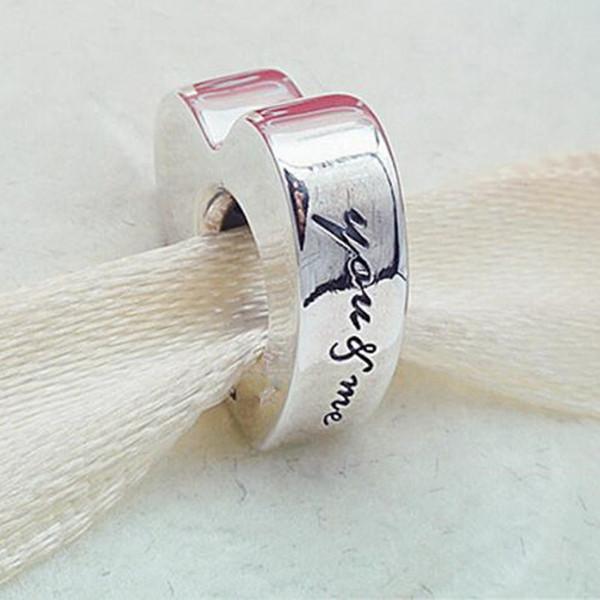 Nouveau Argent Sterling 925 Pan touche de couleur rouge cerise Charms Pour Bracelet Breloque