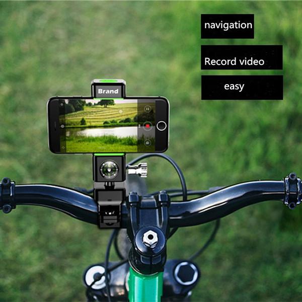 Bicycle mobile phone bracket universal electric motorcycle mountain bike road navigation bracket riding accessories