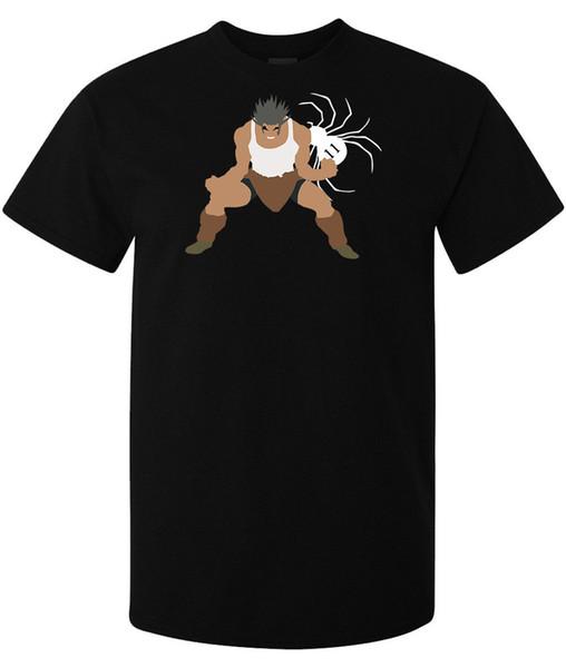 Jäger X Hunter Phantom Troupe Mitglied Uvogin Minimalistisch Kunst Männer T-Shirt Schwarz Cartoon T-Shirt Männer Unisex New Fashion Tshirt