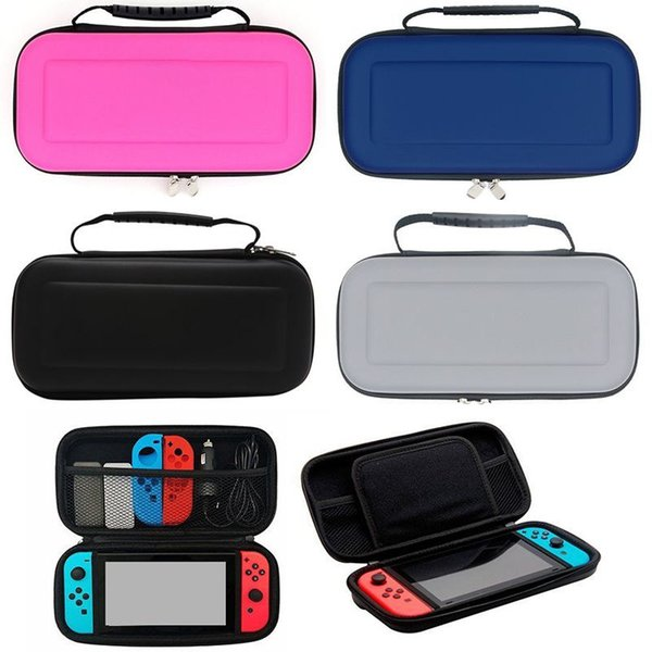 best selling Zipper Bag Carrying Hard EVA Storage Carrying Protective Case With Handle For Nintendo Switch Console Joy-Con