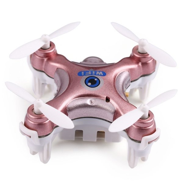 2017 New Cheerson CX-10W Wifi FPV RC Drone With 720P 0.3MP Camera 3D Flip 4CH CX10 Update Version Mini Drone Helicopter Toy Gift