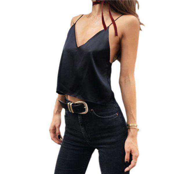 349d75bfec Black Friday Deals New 2017 Sexy Women Summer Tassel Sleeveless V neck Vest Tank  Top Wrap