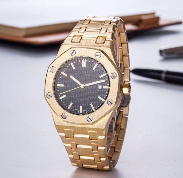 Relojes de marca de fábrica de alta calidad Fecha Reloj de mujer de acero inoxidable Reloj de cuarzo de acero inoxidable Reloj de pulsera de lujo Relojes de pulsera Relojes Relojes de calidad militar