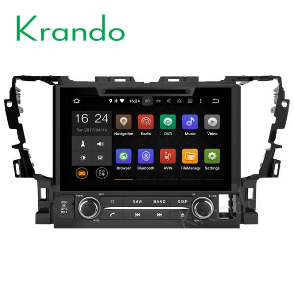 "Krando 9"" Android 7.1 car dvd navigation multimedia system for TOYOTA ALPHARD 2015+ audio radio gps dvd palyer WIFI 3G DAB+"