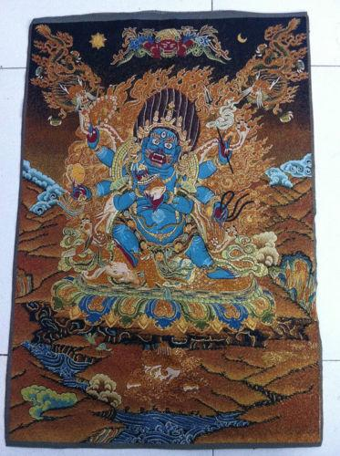 Tibet Nepal thangka tara buddha Kuan statue Guan Yin Exorcism peace wealth