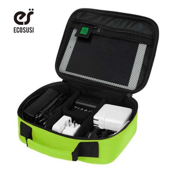 ECOSUSI New Digital Accessories Finishing Bag Data Charger Cable Storage Bag Mp3 Earphones Usb Flash Drive Finishing Bag