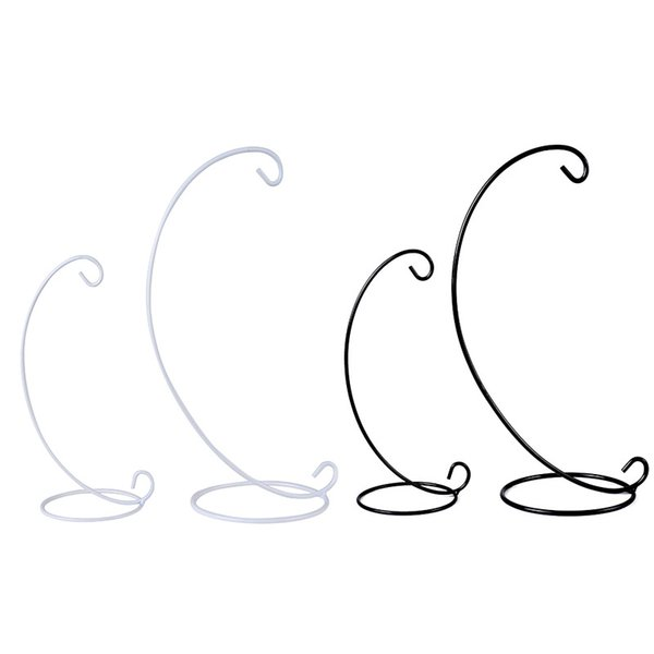 H23cm Spiral Ornament Display Stand Iron Hanging Stand Rack Holder For Plant Christmas Ornament Candlestick Home Wedding Decoration 45pcs