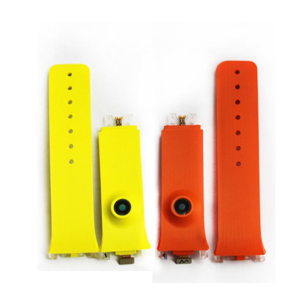 New Original Replace Watch Band Strap For Samsung Gear SM-V700 Green And Orange Two Colour