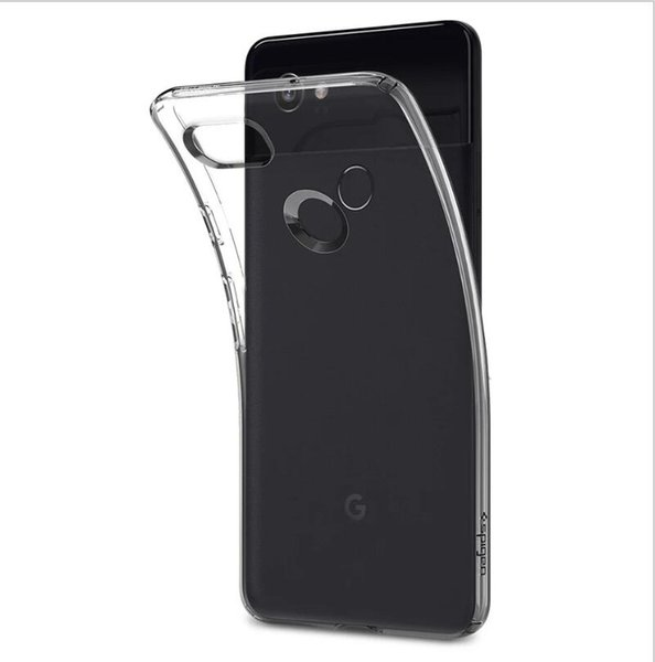 For Google Pixel 3 /3 XL /2 /2 XL Case Slim Clear Transparent Cover Soft Gel TPU Silicone Flexible Mobile Phone Protective Shell