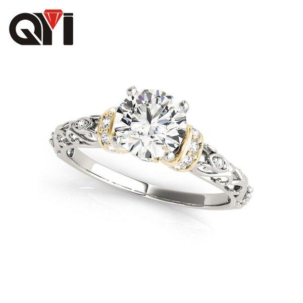 Тысяча один ювелирные изделия Сона бриллиантовое кольцо 925 серебряное кольцо женский пункт 1 карат моделирование дрель подарок на День Рождения индивидуальные A911