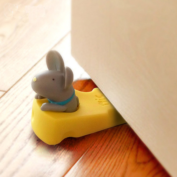 Silicone Guards Lock Baby Safety Baby Door Stopper Mouse Protector Door Stop
