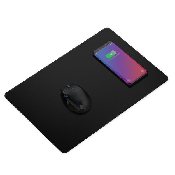 GANSS per iPhone Mouse pad wireless per caricabatterie rapido Samsung Qi con certificazione 15 pollici Ricarica automatica induttiva