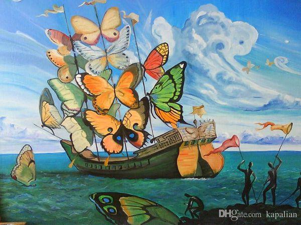 Spedizione gratuita Dali Salvador Szerint Art Poster Stampa Wall Paper Home Decor 16 24 36 47 pollici
