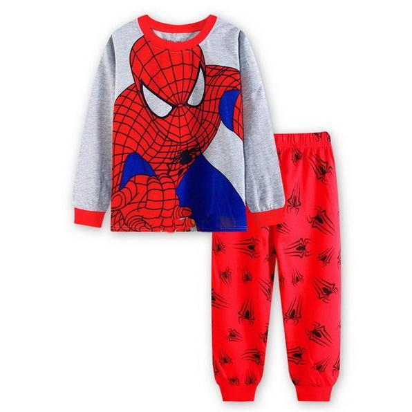 baby kids pajama sets boys Cartoon pijamas children cotton Casual Family sleepwear children's pajamas girls cute pajamas YW269