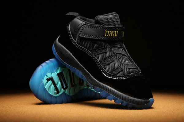 size 40 b9ffc a20e9 Baby Kid 11 XI Space Jam Shoes Little Baby Boys Girls Toddlers 11s Gamma  Concord Bred Pre Walkers Sneaker Size 6C 10C Toddler Boys Running Shoes  Girls ...