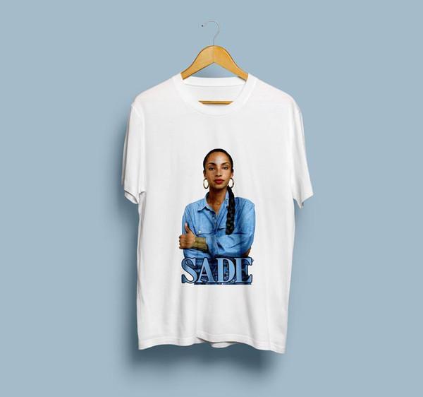 Новые SADE T-Shirt Lovers Rock Новая горячая футболка US SIze S-2XL @TX @ # $ цвет jurney Печать майка jurney Печать футболки