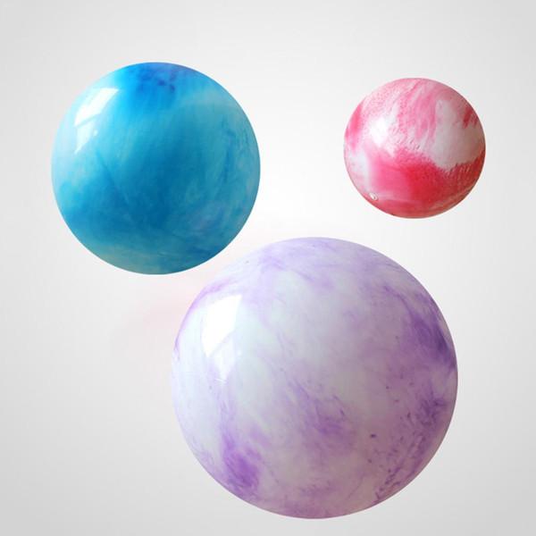 55 cm Colorido Esportes Yoga Balls Bola Pilates Ginásio de Fitness Exercício Bola de Equilíbrio Pilates Workout Bola de Massagem