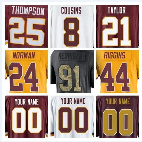 new arrival 214af 2c189 2018 2018 Washington Charley Taylor Redskins Jerseys Ryan Kerrigan Sean  Taylor Green Anthracite Olive Salute To Service American Football Jersey  From ...