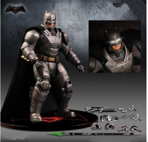 15 CM anime figura o vingador batman figura de ação móvel modelo collectible brinquedos para meninos