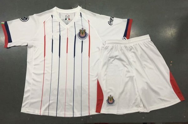 official photos 5febb f7eab 2019 18 19 Chivas Guadalajara Soccer Kits 2018/19 A.PULIDO LOPEZ A.ZALDIVAR  Soccer Jersey Shorts Adult Thai Quality Outdoor Sports Uniforms From ...