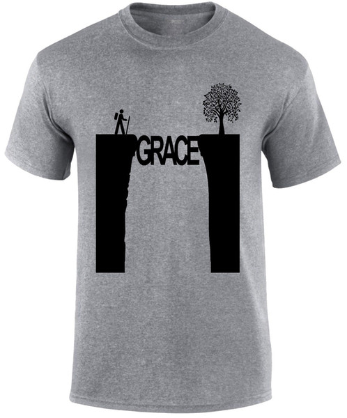 Grace In The Valley Christian Men T-shirt New T Shirts Tops Tee New Unisex Funny High Quality Casual Printing Freeshipping