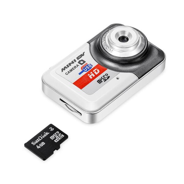 ENKLOV Mini caméra New Ultra HD extérieure petite caméra sans fil Carte Portable Moniteur d'enregistrement vidéo photo multi-fonctions
